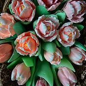 Сувениры и подарки handmade. Livemaster - original item Tulip handmade soap. Handmade.