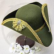 Субкультуры handmade. Livemaster - original item Tricorn (olive). Handmade.