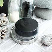 Мыло ручной работы. Ярмарка Мастеров - ручная работа Черное мыло с углём. Handmade.