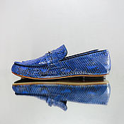 Обувь ручной работы handmade. Livemaster - original item Moccasins from Python BRUER. Handmade.
