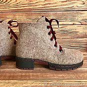 Ботинки валяные