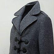 Одежда handmade. Livemaster - original item Coats duffle coat Marcella, wool. Handmade.