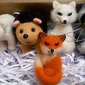 Елочные игрушки ручной работы. Ярмарка Мастеров - ручная работа Набор новогодних игрушек. Handmade.