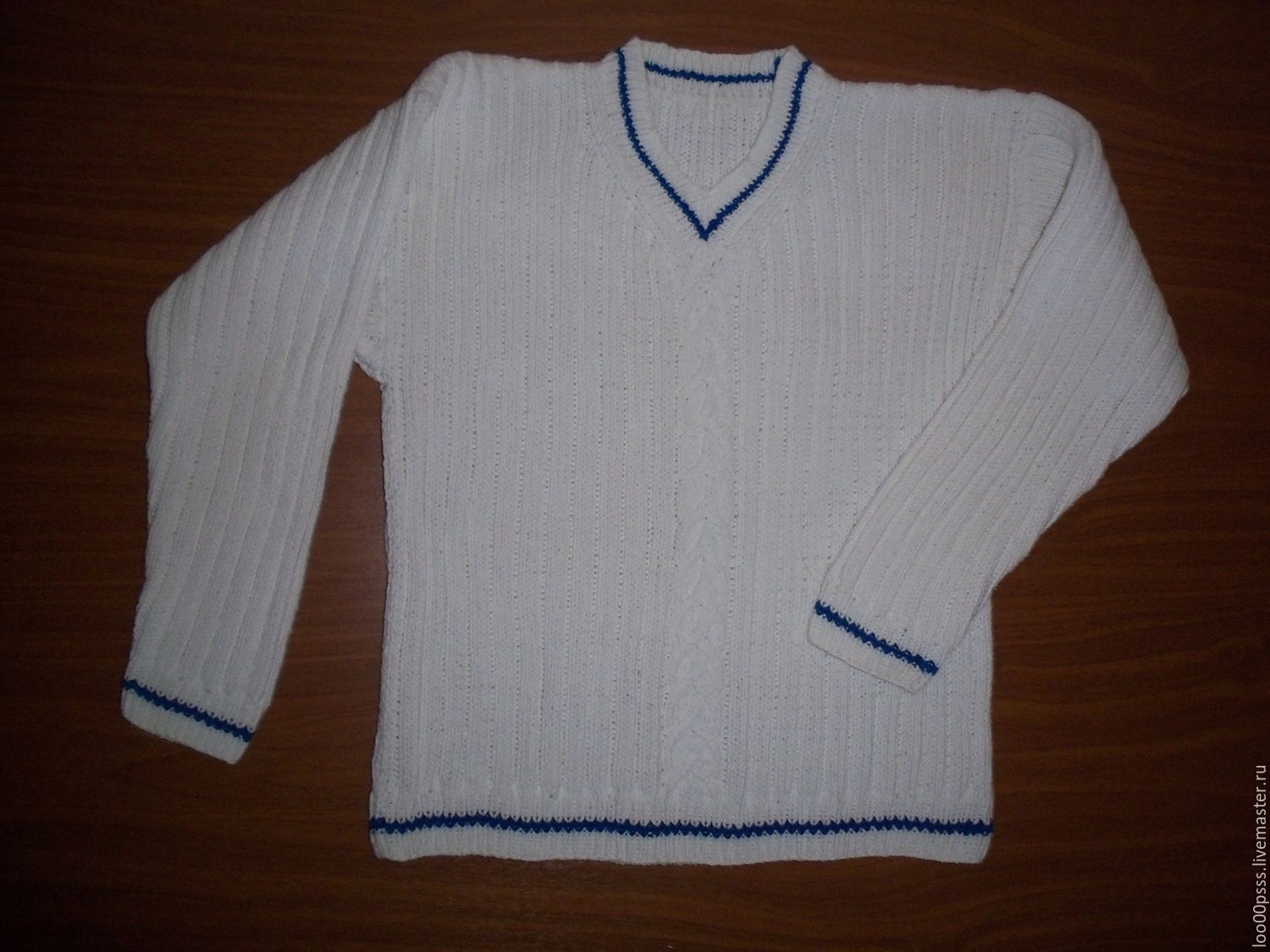 Pullover for the boy. knitted Svetlana Panteleeva