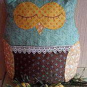 Для дома и интерьера ручной работы. Ярмарка Мастеров - ручная работа Сова подушка. Handmade.