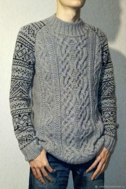 "Knitted sweater ""Scandinavia"", Sweaters, Kiev,  Фото №1"