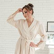 Одежда handmade. Livemaster - original item Robe-kimono Suite. Handmade.