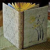 """Канцелярские товары ручной работы. Ярмарка Мастеров - ручная работа Блокнот ручной работы """"Нарциссы"""". Handmade."""