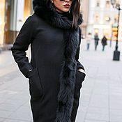 Одежда ручной работы. Ярмарка Мастеров - ручная работа Пальто зимнее с натуральным мехом. Handmade.