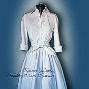 """Одежда ручной работы. Ярмарка Мастеров - ручная работа платье - рубашка свадебное """"Платье- рубашка свадебное"""". Handmade."""