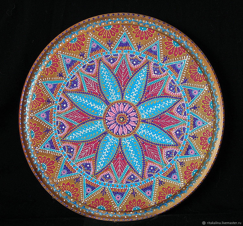 Mandala of abundance shop online on livemaster with for Cuadros mandalas feng shui decoracion mandalas
