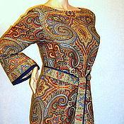 Одежда handmade. Livemaster - original item Dress from Pavlovsky Posad shawls