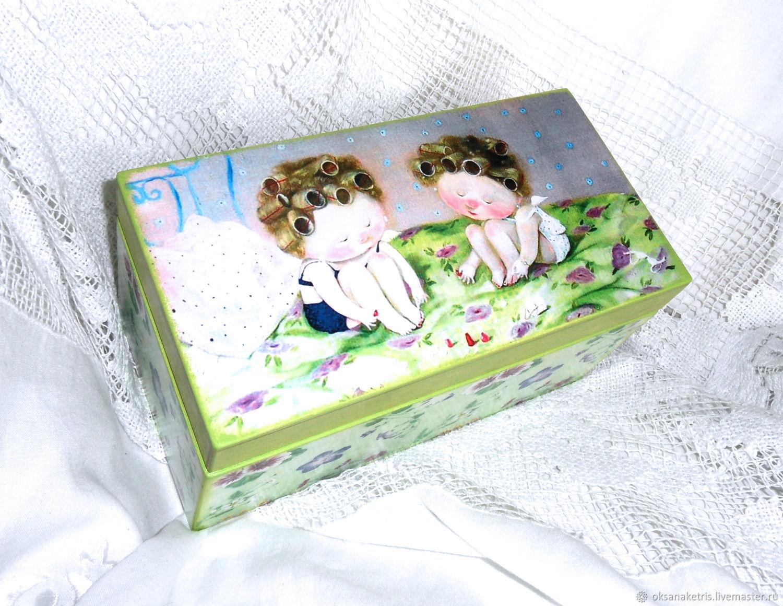 Box-box Red nails, Storage Box, Novosibirsk,  Фото №1