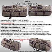 "Сумки и аксессуары handmade. Livemaster - original item Bag ""to warm countries"". Handmade."
