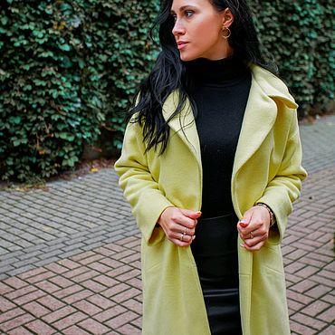 Одежда ручной работы. Ярмарка Мастеров - ручная работа Пальто из шерсти женское Ofresa. Handmade.