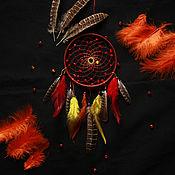 """Фен-шуй и эзотерика ручной работы. Ярмарка Мастеров - ручная работа Ловец снов """"Рыжая осень"""". Handmade."""