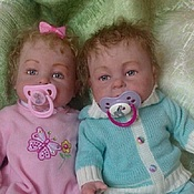 Куклы и игрушки ручной работы. Ярмарка Мастеров - ручная работа Савушка и Любавушка. Handmade.