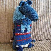 Куклы и игрушки ручной работы. Ярмарка Мастеров - ручная работа Синяя крыса из старого сундука. Handmade.