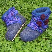 """Обувь ручной работы. Ярмарка Мастеров - ручная работа Валеночки """"Изабелла"""" домашние. Handmade."""