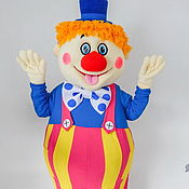 Дизайн и реклама handmade. Livemaster - original item Clown. Mascot. Handmade.