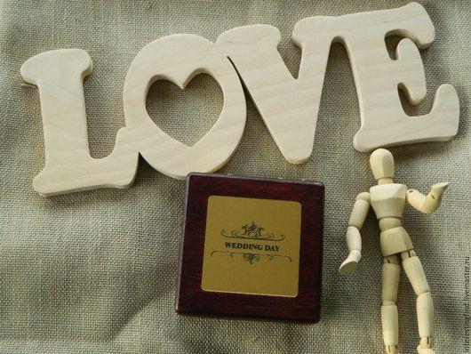 Свадебные аксессуары ручной работы. Ярмарка Мастеров - ручная работа. Купить Шкатулка для флешки. Handmade. Бордовый, коробочка, память