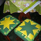 Для дома и интерьера ручной работы. Ярмарка Мастеров - ручная работа сидушка на табурет. Handmade.