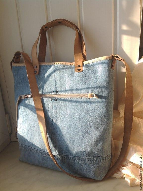 Джинсовые сумки Как и с чем носить джинсовую сумочку