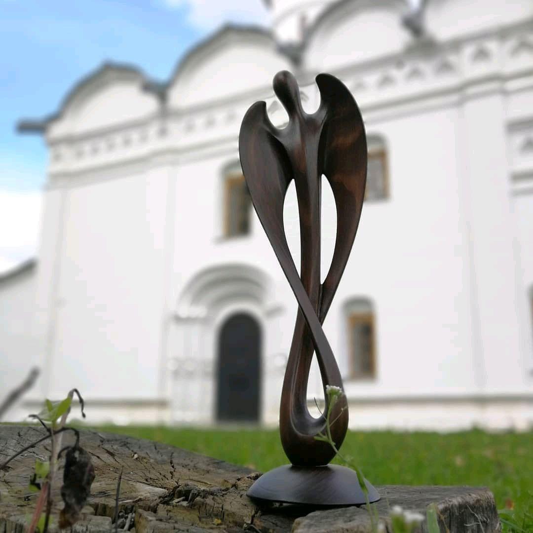 Sculpture of wood ' Infinite angel ', Sculpture, Ivanovo,  Фото №1