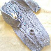 Работы для детей, ручной работы. Ярмарка Мастеров - ручная работа Комбинезон Голубое небо. Handmade.