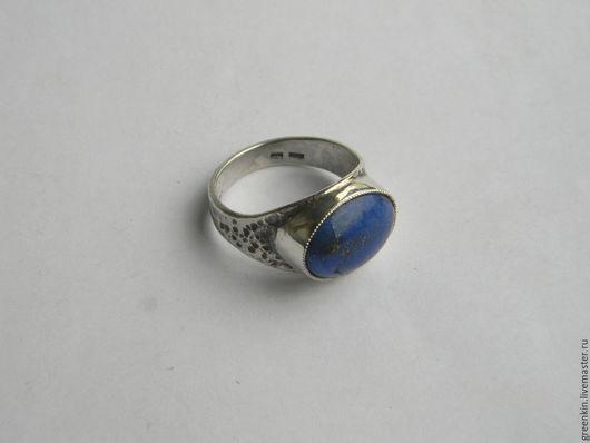 """Кольца ручной работы. Ярмарка Мастеров - ручная работа. Купить кольцо """" Эин"""" с лазуритом. Handmade. Серебряный, кольцо с лазуритом"""