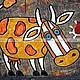 Фантазийные сюжеты ручной работы. Ярмарка Мастеров - ручная работа. Купить Корова. Handmade. Шамот, подарок, подарок девушке