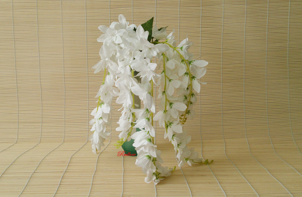 Искусственные свисающие цветы купить