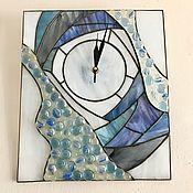Часы ручной работы. Ярмарка Мастеров - ручная работа Часы настенные Голубые дали. Handmade.