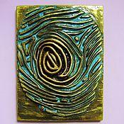Картины и панно handmade. Livemaster - original item The bas-relief of a Fingerprint, Thumbprint decor on the wall. Handmade.