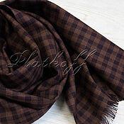 Аксессуары handmade. Livemaster - original item Classic brown men`s scarf