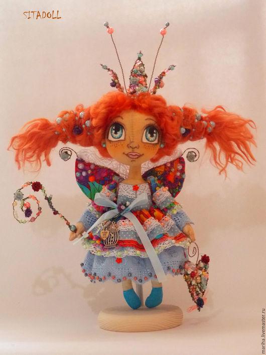 Коллекционные куклы ручной работы. Ярмарка Мастеров - ручная работа. Купить Принцеса Фея. Handmade. Белый, принцесса, текстильная кукла