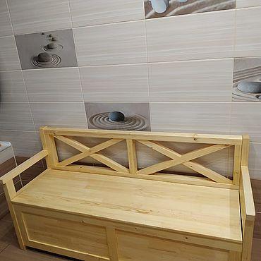 Мебель ручной работы. Ярмарка Мастеров - ручная работа Комод-скамейка. Handmade.