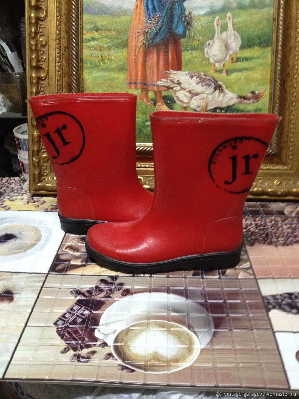 559110143 Винтажная обувь. Ярмарка Мастеров - ручная работа. Купить Винтаж: Винтажные  резиновые сапоги.