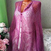 Одежда handmade. Livemaster - original item Mohair cardigan