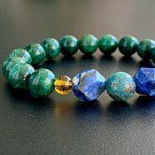 Украшения handmade. Livemaster - original item The Purpose of the Bracelet, Vishudha. Handmade.