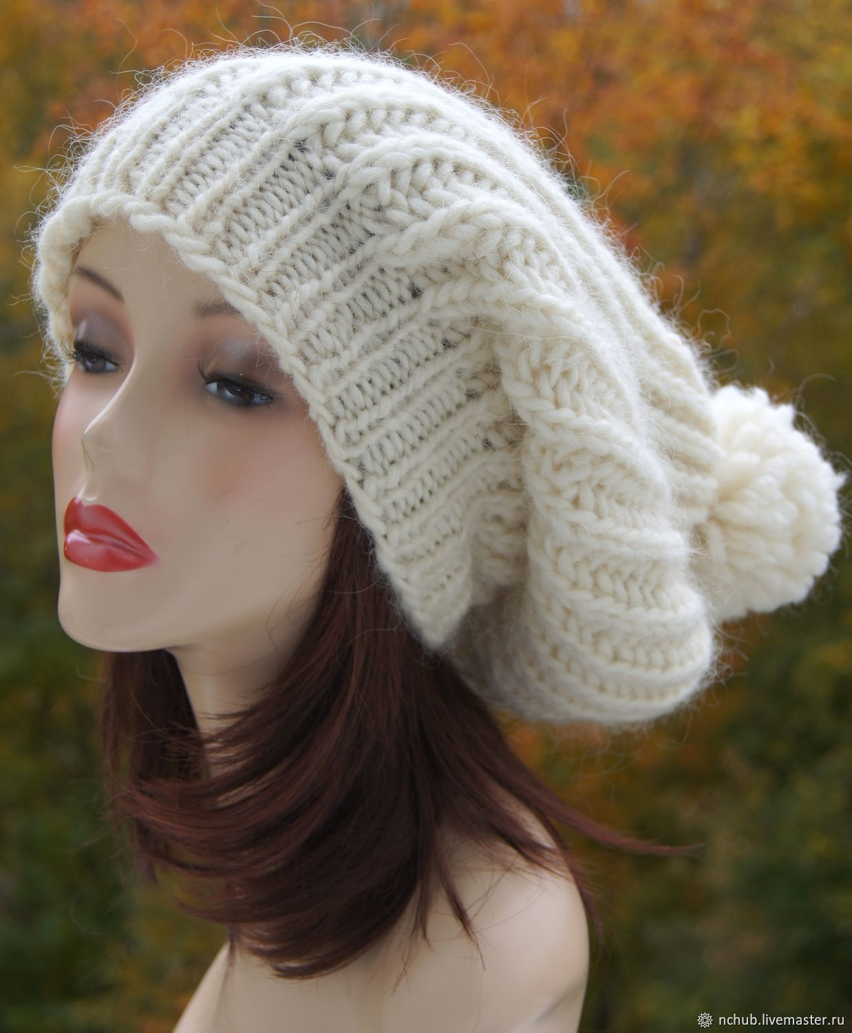 c1c9c4c2048dc Little pleasures · Berets handmade. Takes the White knit bulk from thick  Icelandic wool 100.