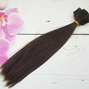Волосы для кукол ручной работы. Ярмарка Мастеров - ручная работа Трессы 25 см. Handmade.