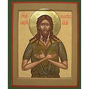 Картины и панно ручной работы. Ярмарка Мастеров - ручная работа Икона Святого преподобного Алексия,человека Божия. Handmade.