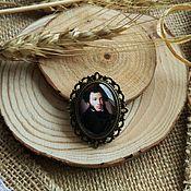 Украшения handmade. Livemaster - original item Brooch bronze Pushkin. Handmade.