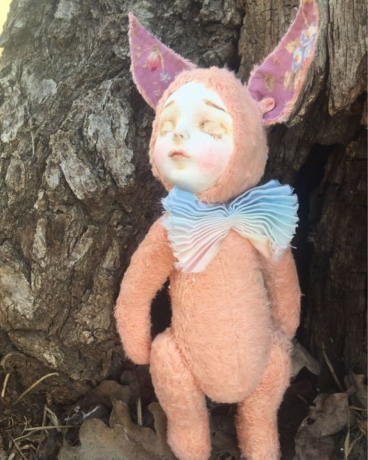 Куклы и игрушки ручной работы. Ярмарка Мастеров - ручная работа. Купить Теддидолл Лисичка. Handmade. Тедди, кукла в подарок