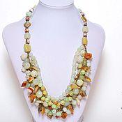 Украшения handmade. Livemaster - original item Necklace grossular