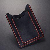 Канцелярские товары handmade. Livemaster - original item Leather case for auto documents. Cover for avtodokumentov leather. Handmade.