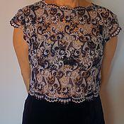"""Одежда ручной работы. Ярмарка Мастеров - ручная работа Нарядное платье """"Сапфир"""". Handmade."""