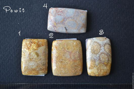 Для украшений ручной работы. Ярмарка Мастеров - ручная работа. Купить Кабошоны из коралла, часть 8. Handmade. Кабошон из камня