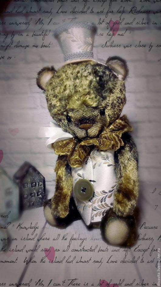 Мишки Тедди ручной работы. Ярмарка Мастеров - ручная работа. Купить Green  Leaf. Handmade. Оливковый, не дорого, коллекция, винтаж
